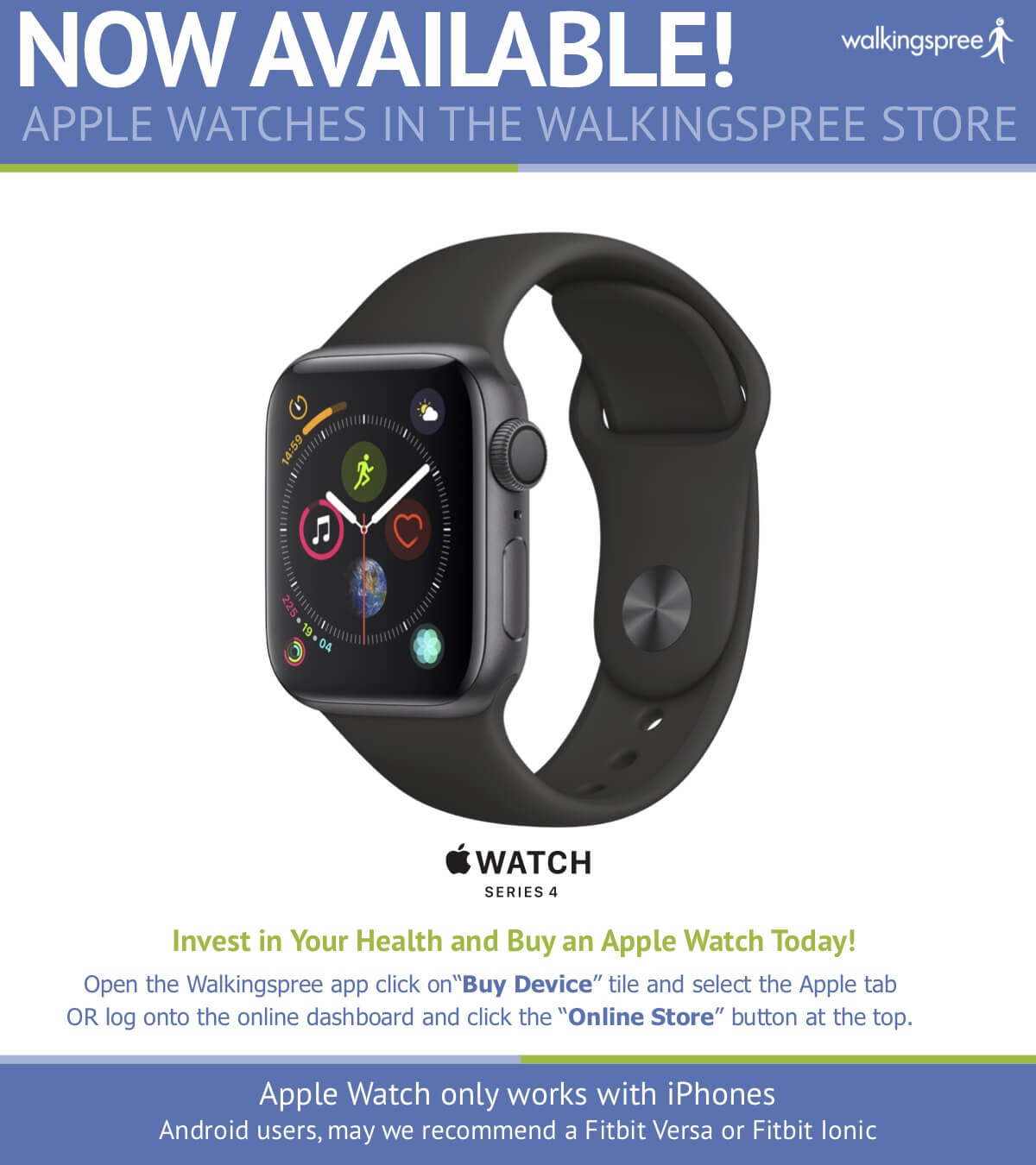 Apple Watches Now Available!